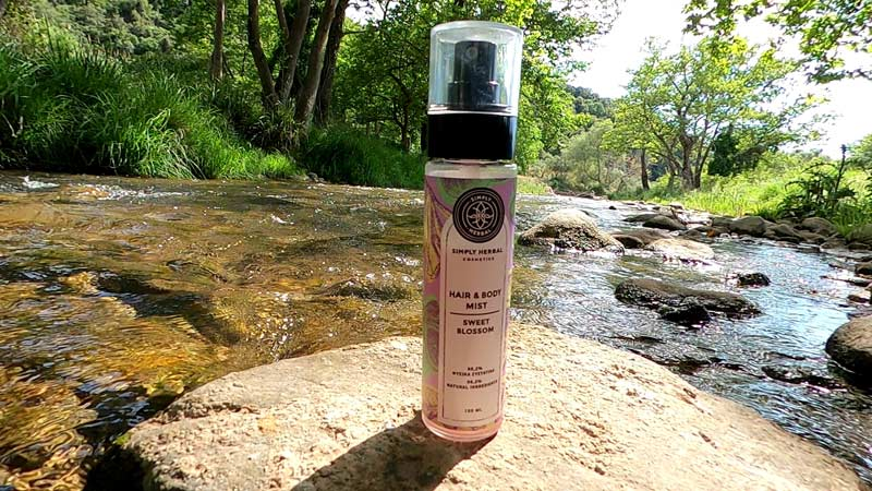 SIMPLY HERBAL COSMETICS:hair and body mist